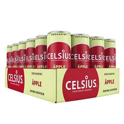 24 x Celsius, 355 ml, Äpple