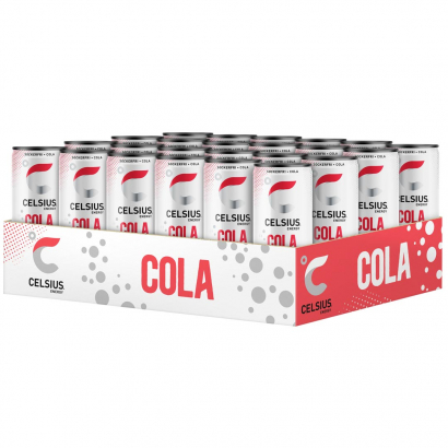 24 x Celsius, 355 ml, Cola i gruppen Drycker / Energidryck hos Proteinbolaget.se (PB-0050)