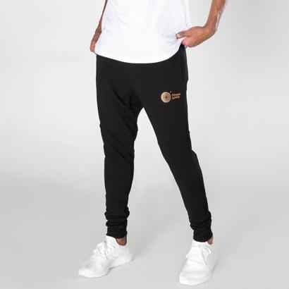 Fitnessjunkie Signature Sweatpants Black