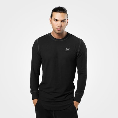 Better Bodies Harlem Thermal L/S Black