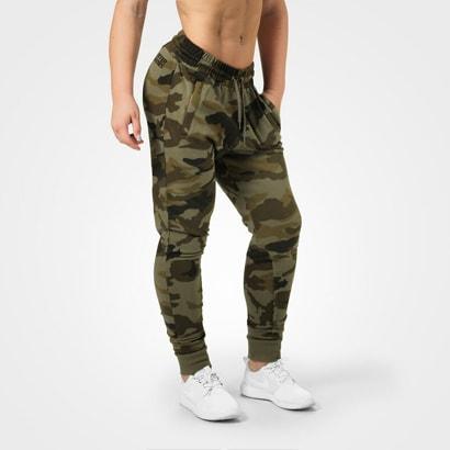 Better Bodies Jogger Sweat Pants Dark Green Camo