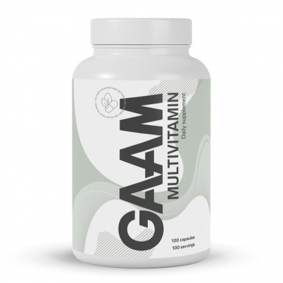 GAAM Nutrition Health Series Multivitamin, 100 caps