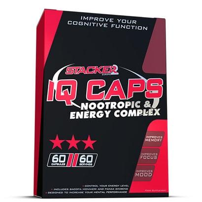 Stacker2 IQ caps, 60 caps