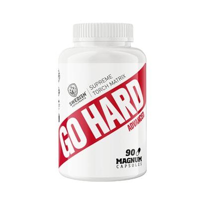 Swedish Supplements Go Hard Advanced, 90 caps