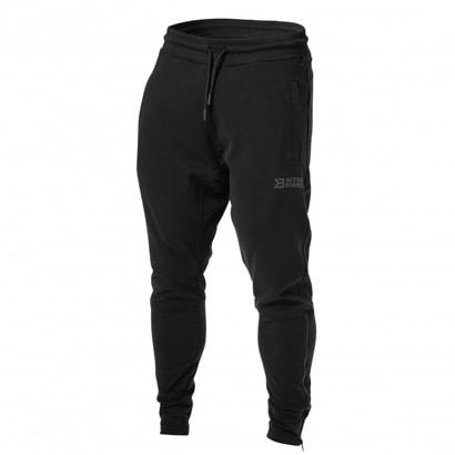 Better Bodies Harlem Zip Pants Black