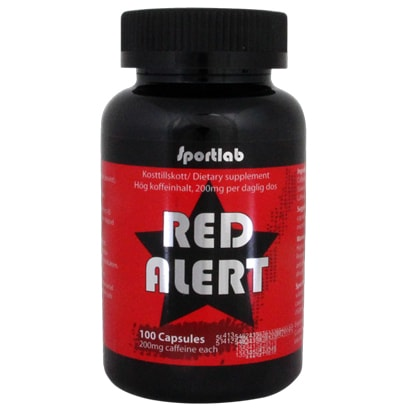 Sportlab Red Alert, 100 caps