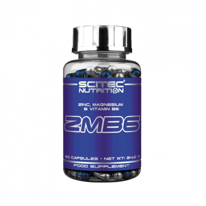Scitec Nutrition ZMB6, 60 caps