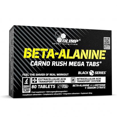Olimp Beta-Alanine Carno Rush, 80 caps