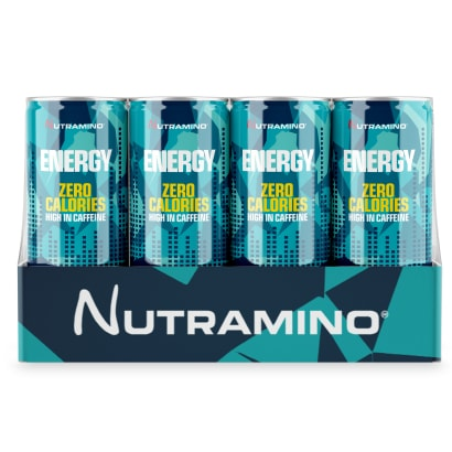 24 x Nutramino Energy Drink 0 Calories, 250 ml