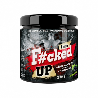 Swedish Supplements F#cked Up Halo Edition i gruppen Prestationshöjare / PWO / Uppiggande & Fokus hos Proteinbolaget.se (PB-1363)