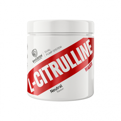 Swedish Supplements Citrulline Malate 250 g i gruppen Prestationshöjare / PWO / Pump & NO hos Proteinbolaget.se (PB-1564)