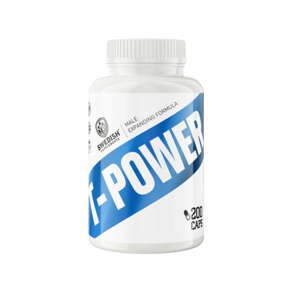 Swedish Supplements T-Power, 200 caps