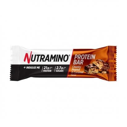 Nutramino Proteinbar Chunky Peanut & Caramel, 60 g