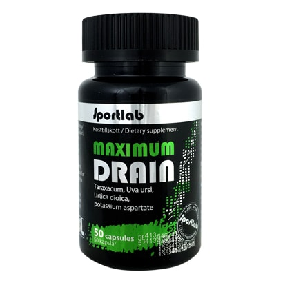 Sportlab Maximum Drain, 50 caps
