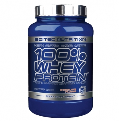 Scitec Nutrition 100% Whey Protein, 920 g
