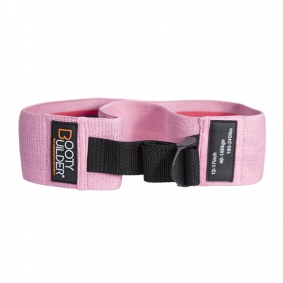 Booty Builder Loop Band, Adjustable, Pink