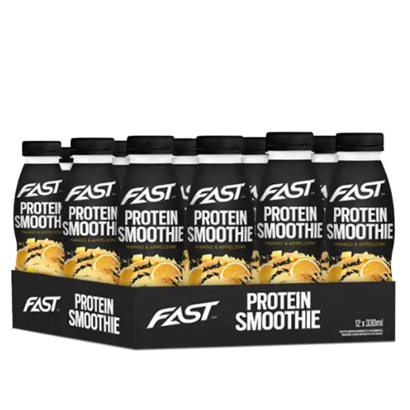 12 x FAST Sport Nutrition Smoothie, 330 ml