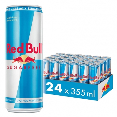 24 x Red Bull Energy Drink, 355 ml i gruppen Drycker / Energidryck hos Proteinbolaget (PB-25685)