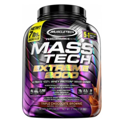 Muscletech Mass-Tech Extreme 2000, 3,18 kg