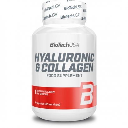 BioTechUSA Hyaluronic & Collagen, 30 caps