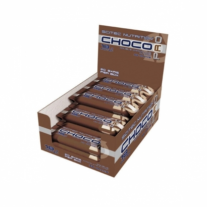 20 x Scitec Nutrition Choco Pro, 55 g i gruppen Bars / Proteinbars hos Proteinbolaget (PB-2954)