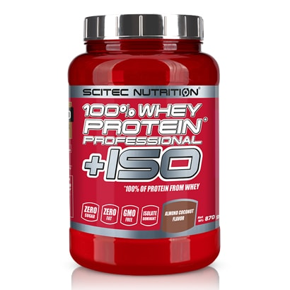Scitec Nutrition 100% Whey Protein Professional + ISO, 870 g