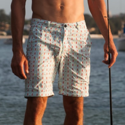 The Rocks Push Board Shorts Bluerys Laps