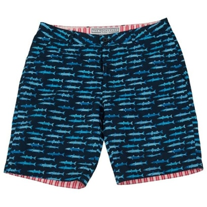 The Rocks Push Board Shorts Blueys Barracuda
