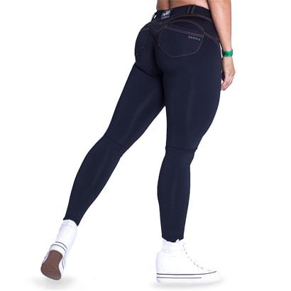 NEBBIA Bubble Butt Pants Revolution Black