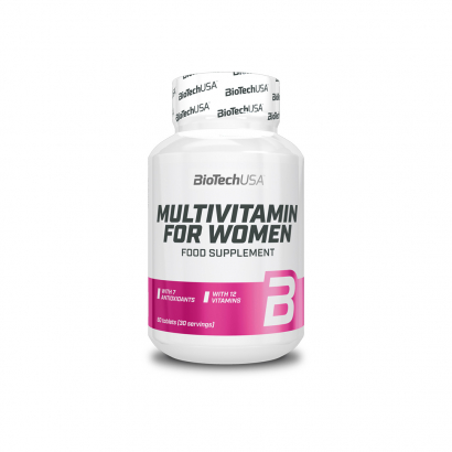 BioTechUSA Multivitamin For Women, 60 tabs