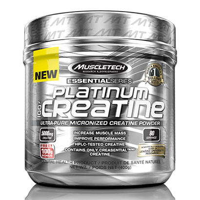 Muscletech Essential Series Platinum 100% Creatine