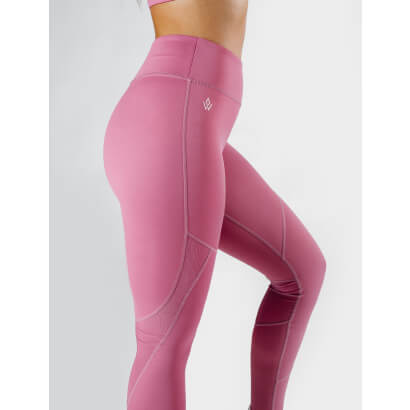 Workout Empire Tech Tights Mauve Pink