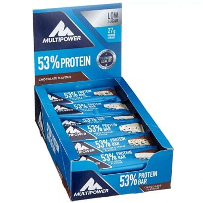 24 x Multipower 53% Protein Bar 50 g