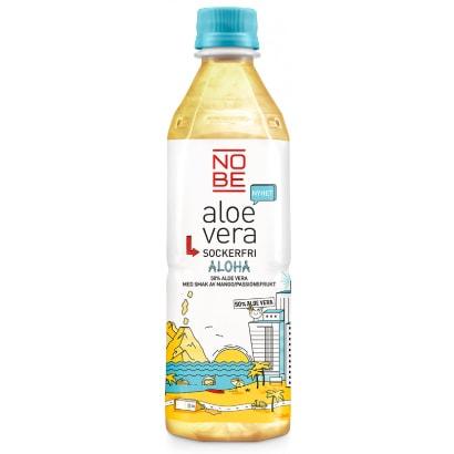 NOBE Aloe Vera 20 x NOBE Aloe Vera, 500 ml, Aloha Fruits (Sockerfri)
