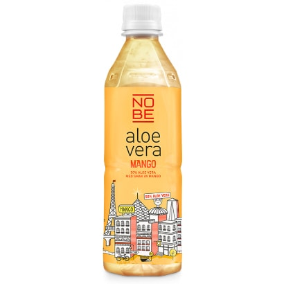 NOBE Aloe Vera 20 x NOBE Aloe Vera, 500 ml, Mango