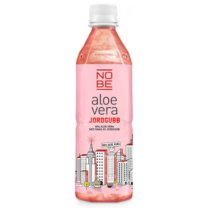 aloe vera dryck jordgubb