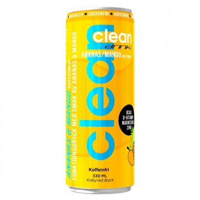 Clean Drink 330ml i gruppen Drycker / Energidryck hos Proteinbolaget.se (PB-3855)