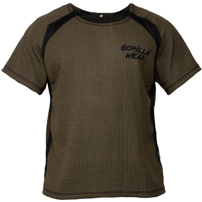 Gorilla Wear Augustine Old School Top Army Green