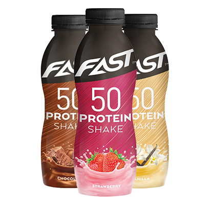 FAST Proteinshake 50, 500 ml i gruppen Drycker / Proteindryck hos Proteinbolaget (PB-3889)
