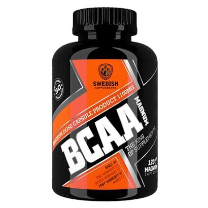 Swedish Supplements BCAA Magnum, 120 caps