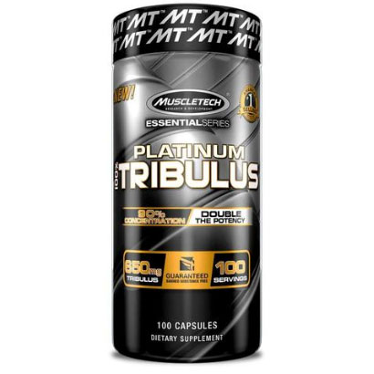 Muscletech Platinum 100% Tribulus, 100 caps