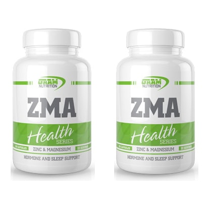 2 För 1 Health Series ZMA, 100 caps