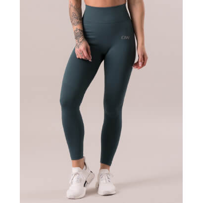 ICANIWILL Define Seamless Tights Jungle Green i gruppen Träningskläder / Tights hos Proteinbolaget.se (PB-4116)