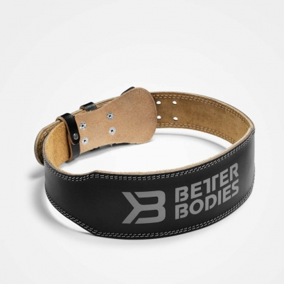 Better Bodies Weight Lifting Belt, black i gruppen Träningstillbehör / Bälten hos Proteinbolaget.se (PB-45125)