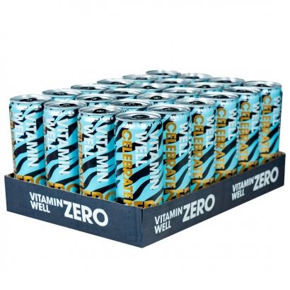 24 x Vitamin Well ZERO, 355 ml, Celebrate, Mango/Ananas