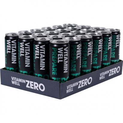 24 x Vitamin Well ZERO, 355 ml, Prepare, Passionsfrukt
