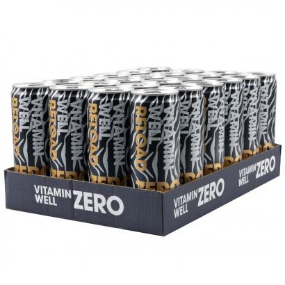 24 x Vitamin Well ZERO, 355 ml, Reload, Citron/Lime