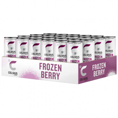 24 x Celsius, 355 ml, Frozen Berry i gruppen Drycker / Energidryck hos Proteinbolaget.se (PB-4734)