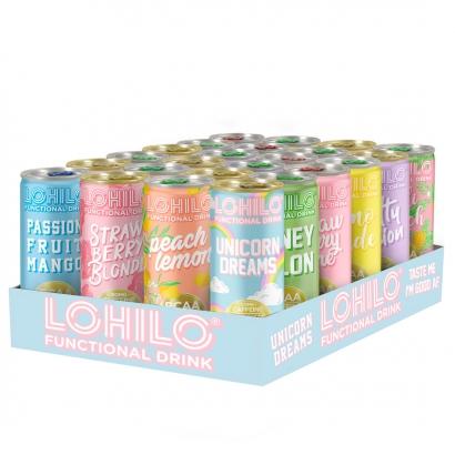 Lohilo 24 x Lohilo Functional BCAA/Collagen Drink, 330ml