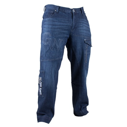 6e054104 Gorilla Wear GW82 Jeans Blue - Proteinbolaget.se